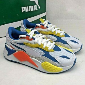 PUMA RS-X3 Puzzle Sneakers 372357-06 White